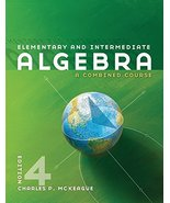 Elementary and Intermediate Algebra: A Combined Course (Available Titles... - $24.99
