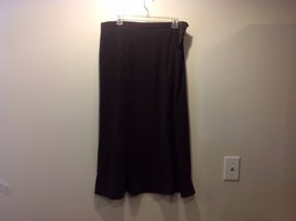 Elementz Dark Brown Stretchy Skirt Sz XL