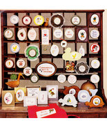 COUNTED CROSS STITCH DESIGNS MANY MORE MINIS BY BRINKLEY & LEE NOS - $3.00