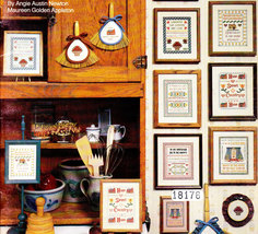 CROSS STITCH MINI COUNTRY SAMPLERS CANTERBURY - $5.00