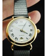 2042 Tourneau 7 Jewel Lady Swiss Made Battery Quartz Wrist Watch w/ Liza... - $150.00