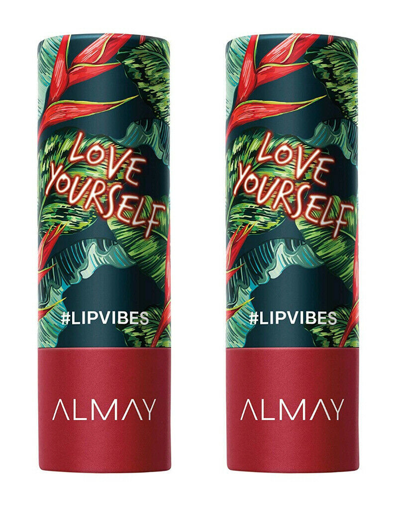 2 Pack Almay Lip Vibes Cream Finish Lipstick  -230 Love Yourself- New/Sealed - $8.77