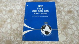 Oem 1996 Ford F & B 700, 800, 900 Body, Chassis Service Repair Manual - $11.47