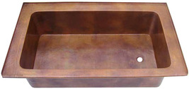 Drop-in Copper Bathtub - $3,200.00