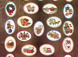 CROSS STITCH PUT YOUR HEART IN COUNTRY KOUNT ON KAPPIE - $6.00