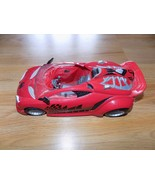 """2007 Marvel Spider-Man Toy Car for Action Figure 11"""" Red Black Silver Ha... - $20.00"""