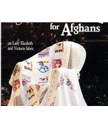 CROSS STITCH SAM HAWKINS DESIGNS FOR AFGHANS - $6.50