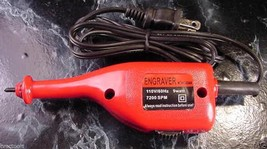 Electric ENGRAVER TOOL Engrave info on with engraving tool new - $9.99