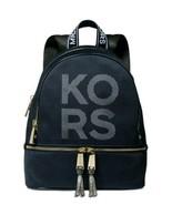 Michael kors rhea backpack medium black NWT - $137.75