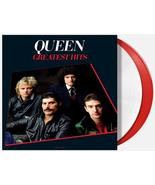 Queen - Greatest Hits, Vol. 1 Exclusive Red and White Vinyl Album 2xLP R... - $55.99