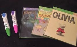 CHOOSE: LeapFrog LeapReader PInk Or Blue Reading Pen With ONE BOOK & Bat... - $23.33