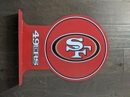 "18"" SF 49ERS San Fran Sports Football 3d cutout USA STEEL plate display ad Sign - $73.50"
