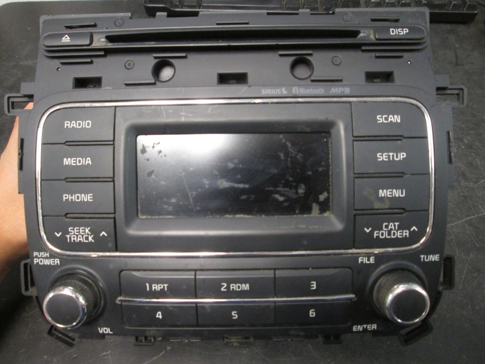 Primary image for 14 15 KIA FORTE RADIO CD MP3 PLAYER BLUETOOTH #96170-A7171WK *See item*
