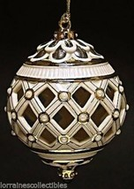 FLORENTINE & PEARL COLLECTION LENOX ORNAMENT BALL NEW IN BOX - $49.49