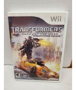Transformers Dark of the Moon Stealth Force Edition Video Game for Wii b... - $8.38