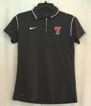 Vintage Nike Navy Blue University of Tennessee Short Sleeve Golf Polo M - $19.57
