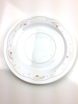 """Correlle by Corning replacement Salad Dish 7"""" White Calico Rose Trellis - $16.99"""