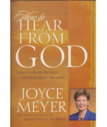 How To Hear From God Joyce Meyer LN - $6.95