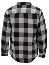 Men's Premium Cotton Button Up Long Sleeve Plaid Comfortable Flannel Shirt image 13