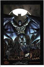 George Perez SIGNED DC Comics Super Hero Art Print ~ Batman The Dark Knight - $49.49
