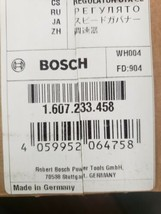 Bosch RH745 DH7 12 VC SPEED GOVERNOR PART # 1607233458 - $80.29