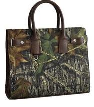 Mossy Oak Camo Tote Bag Handbag PURSE - MO/COFFEE - $65.95