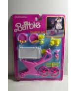 Mattel 1989 Barbie Hostess Set Tea Cart & Accessories - $23.74