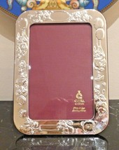 Cunill Sterling Silver 4X6 Bunnies Picture Frame - $69.00