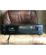 Nakamichi CR-2A Cassette Deck 2 E60407 Tested / Works - selling for parts - $284.99