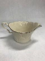 Lenox  creamer silver edge VINTAGE  USA dining serving coffee porcelain ... - $40.59