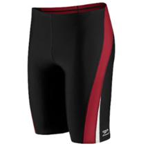 Speedo Endurance+ Launch Splice Jammer Competitive Swimsuit boys size 22... - $37.17