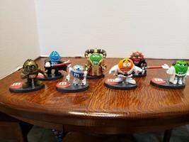 Lot Of 7 Star Wars Mpire M&M Figures! 2005 Hasbro - $21.67