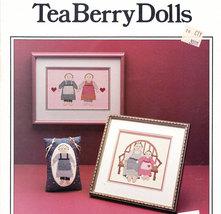Cross Stitch Tea Berry Dolls - $3.00