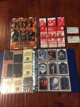 268 Of Vtg 1978(64)1998(184)+Kiss Japan/us Topper Sets+2 phone Card - $98.01