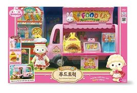 Konggi Rabbit Gurmi Sheep Food Truck Kitchen Doll Toy Roleplay Playset image 3