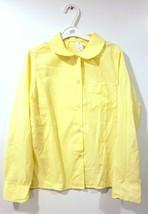 Uniform Button Up Shirt Official School Blouse Girls Tops Size 16 Long S... - $11.30