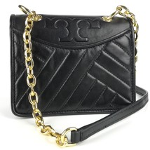 TORY BURCH Alexa Black Leather Mini Shoulder Bag - $299.00
