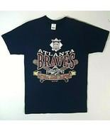 Vintage Atlanta Braves 1992  World Series National League Champions T Sh... - $33.95