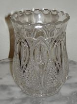 New Jersey Loops & Drops Celery vase, pattern glass circa: 1891 - $88.83