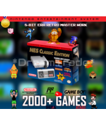NES Classic Edition Nintendo Entertainment System Mini Console 2000+ Games - $149.00