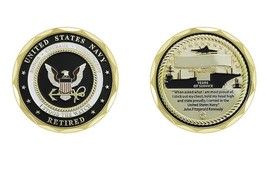 U.S. Navy Retired I Stood the Watch Coin - $16.83