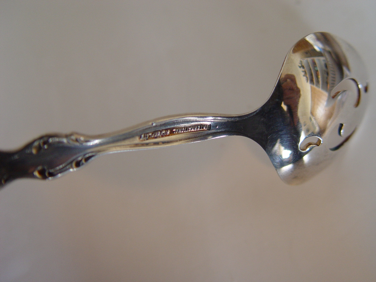 """International Silverplate"" Likely Retired Jam /Condiment 5 inch  Spoon"