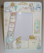 Fetco 1991 Baby Nursery 3.5 x 5 Photo 3-D Picture Frame - $12.00