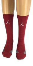 Nike Vapor Jordan Jumpman Crew Red/White Socks L SX7012-104 - $19.99