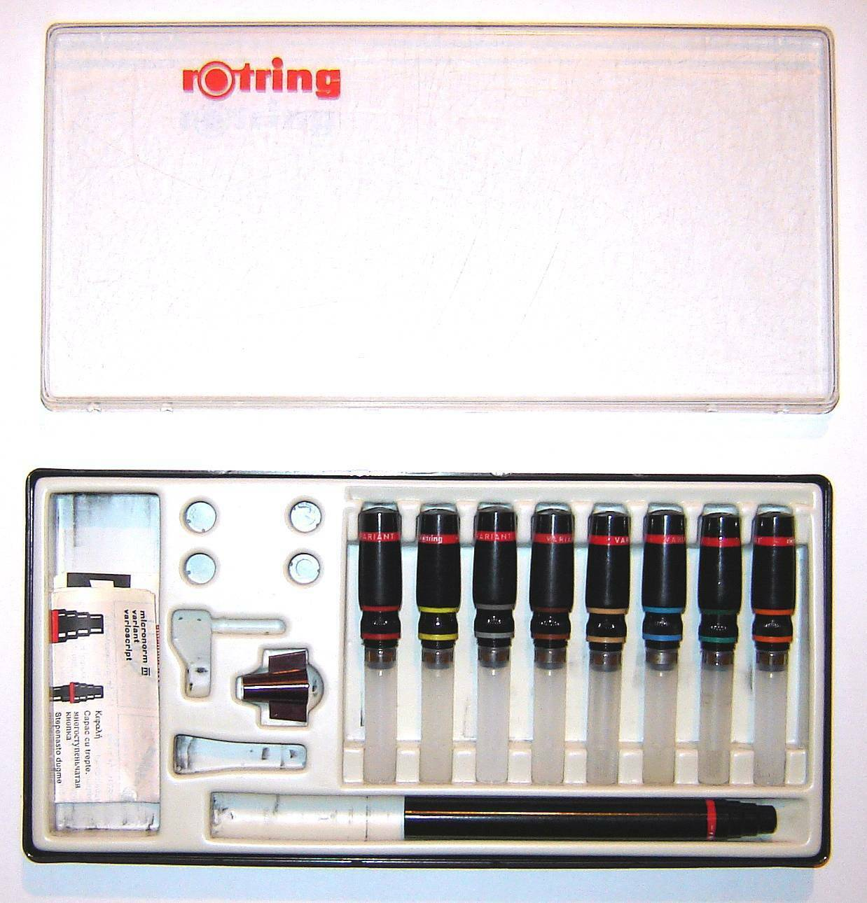 Rotring Variant technical pens set 0.1mm - 1.2 mm #4