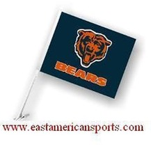 Chicago Bears NFL Car Flag Window Banner Auto Truck Fan Automotive - $9.99