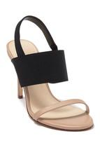 Nine West Women Slingback Sandals Melon Size US 7.5M Black Light Natural - $59.16