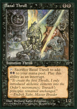 Magic: The Gathering: Fallen Empires - Basal Thrull (D) - $0.25
