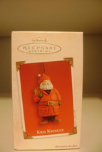 HALLMARK Keepsake Kris Kringle Christmas 2003 Special Ornament - $12.86