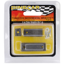 Pine Car Derby Weights 2oz-Tungsten Incremental Weight Plate - $26.67